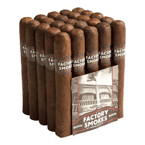 Factory Smokes by Drew Estate Gordito Maduro Cigars - 6 x 60 (Bundle of 20)