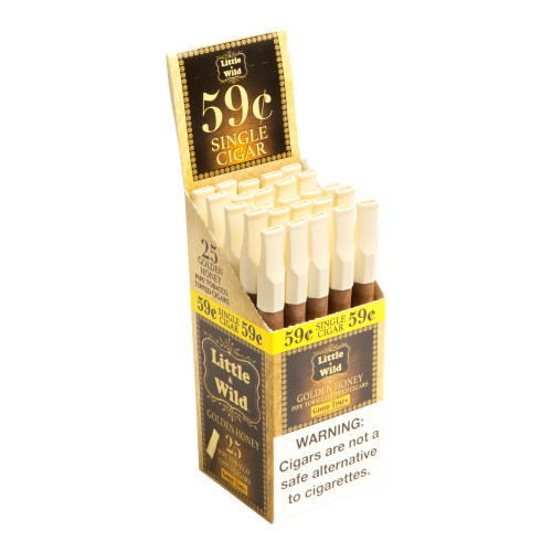 Good Times Little & Wild Golden Honey Cigars - 5 x 25 (Box of 25)