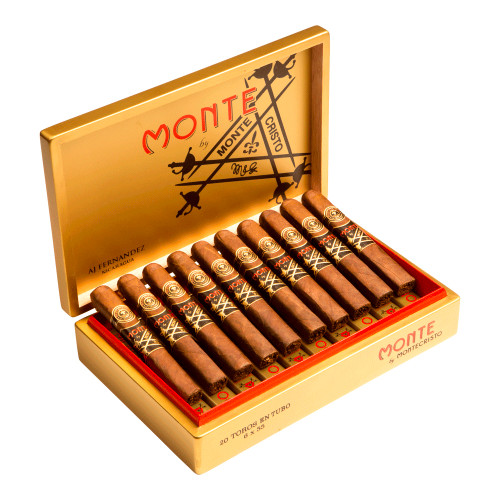 Monte by Montecristo AJ Fernandez Square Toro Cigars - 6 x 55 (Box of 20)
