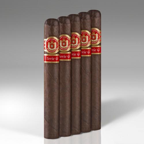 Saint Luis Rey Serie G Churchill Maduro Cigars - 7 x 58 (Pack of 5)