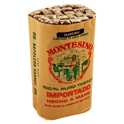 Montesino Napoleon Grande Maduro Cigars - 7 1/2 x 46 (Bundle of 25)