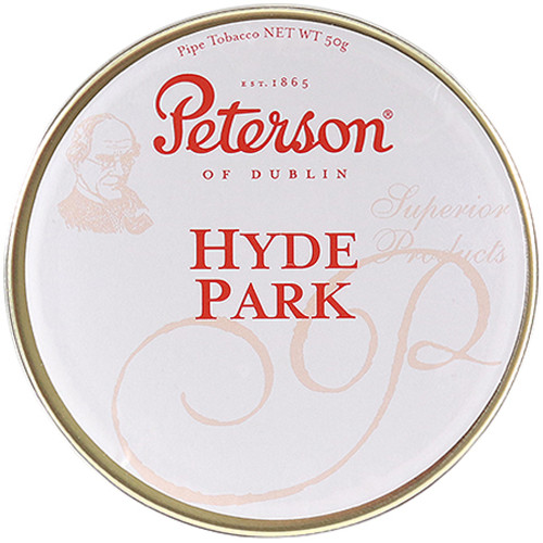 Peterson Hyde Park Pipe Tobacco | 1.75 OZ TIN