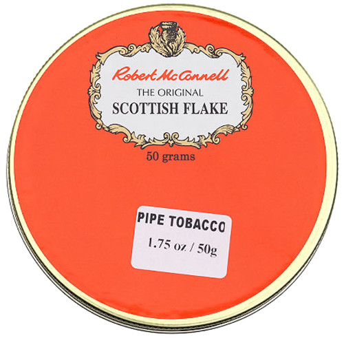 McConnell's Scottish Flake Pipe Tobacco | 1.75 OZ TIN