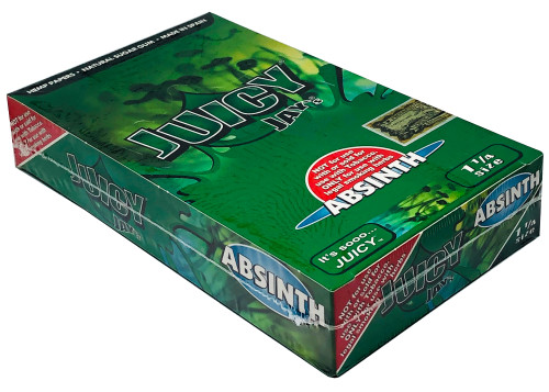 Juicy Jay's Absinth 1.25 Flavored Hemp Rolling Papers Box