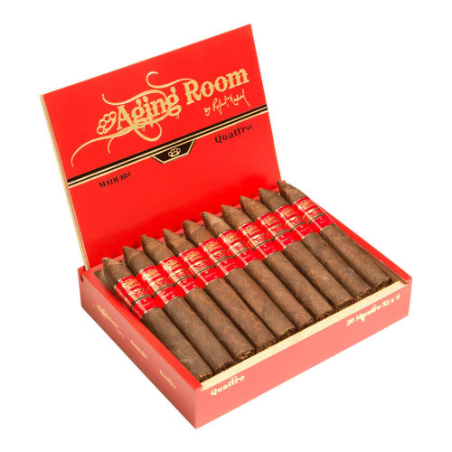 Aging Room Quattro by Rafael Nodal Vibrato Cigars - 6 x 54 (Box of 20)