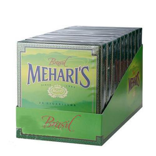 Agio Mehari's Cigarillos Brazil Cigars - 4 x 23 (10 packs of 20(200 total))