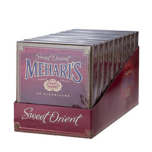 Agio Mehari's Cigarillos Red Orient Cigars - 4 x 23 (10 packs of 20(200 total))