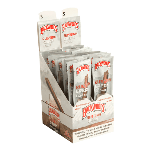 Backwoods Cigars Russian Cream Cigars - 4.5 x 32 (Box of 24)