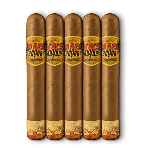 Black Abyss Connecticut Wraith Cigars - 6 x 52 (Pack of 5)