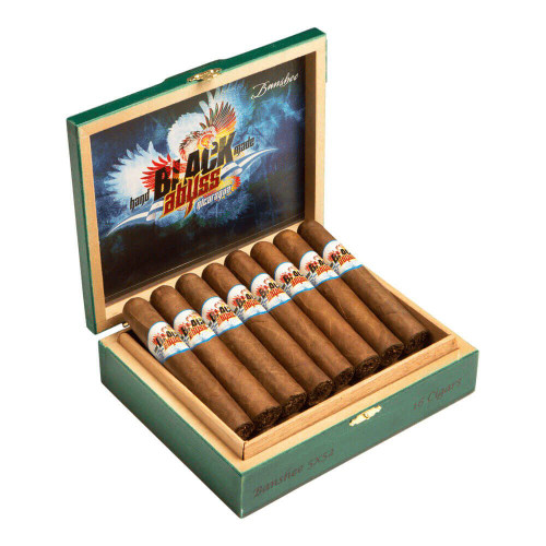 Black Abyss Nicaragua Hydra Cigars - 6 x 56 (Box of 16)