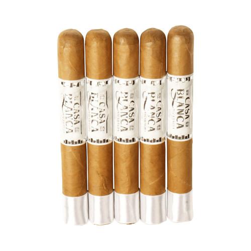 Casa Blanca Nicaragua Robusto Natural Cigars - 5 x 52 (Pack of 5)