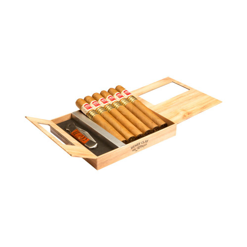 Cigar Samplers Henry Clay War Hawk Toro Cigars - 6 x 50 (5pk + Knife)