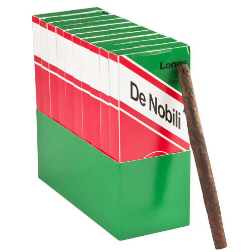 De Nobili Toscani Longs Cigars - 6.5 x 34 (10 Packs of 5 (50 total))