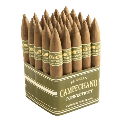 El Galan Campechano Torpedo Cigars - 6 x 52 (Bundle of 25)