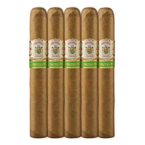 Gran Habano #1 Connecticut Gran Robusto Cigars - 6 x 54 (Pack of 5)