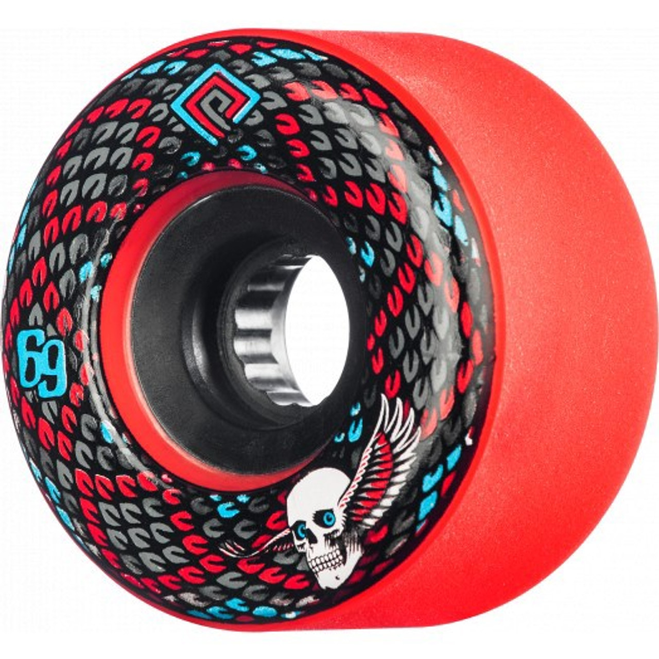 Powell Peralta Snakes Wheels 69mm 75a Red 88 Skateboards