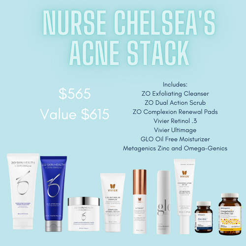 Nurse Chelsea's Acne Stack Kit