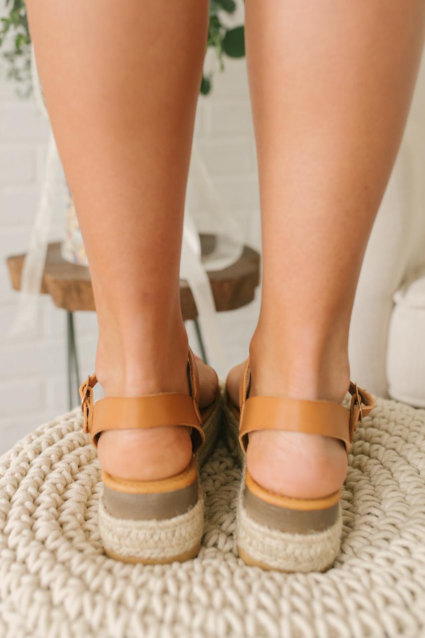 2dbd2fca13f Sweet Escape Studded Espadrille Sandals - Tan