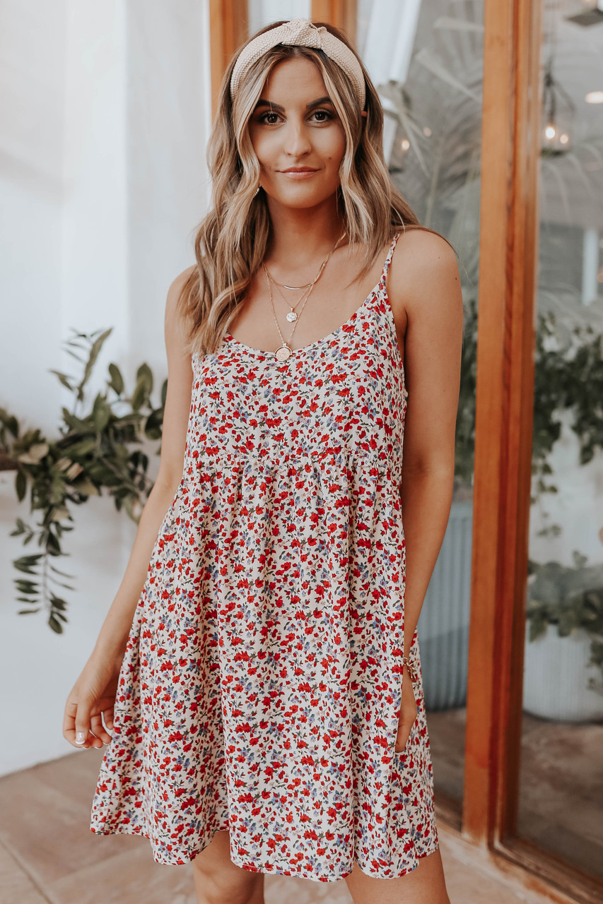 floral causal dresses 2021