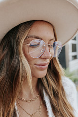 Tinsdale Rose Gold Blue Light Glasses