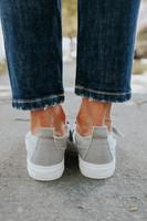 Gypsy Jazz Zippy Grey Sneakers