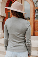 Griffith Park Grey Crew Neck Sweater