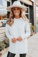 Echo Mountain Heather Grey Sweater