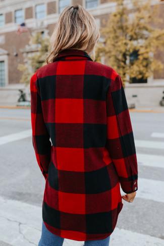 BB Dakota Eldridge Red Jacket