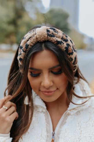 Leopard Knot Headwrap - FINAL SALE