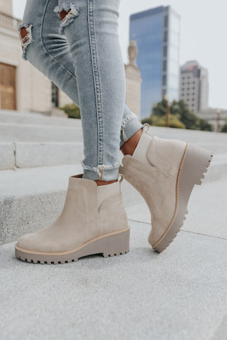 DV by Dolce Vita Rielle Stone Chelsea Booties