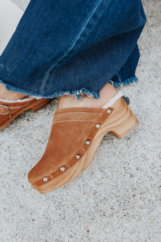 Chinese Laundry Carlie Brown Clogs