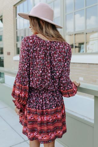 Wild Love Tassel Tie Boho Floral Dress - FINAL SALE