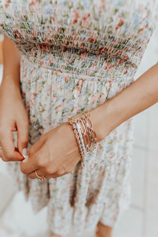 Wrapped Up Mixed Linked Bracelet - FINAL SALE
