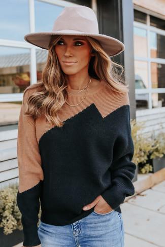 Emerson Avenue Colorblock Sweater