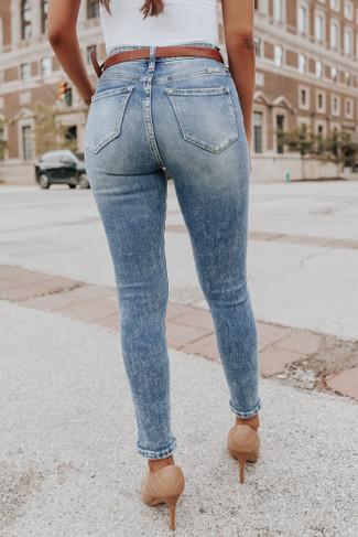 Millennium Medium Wash Skinny Jean
