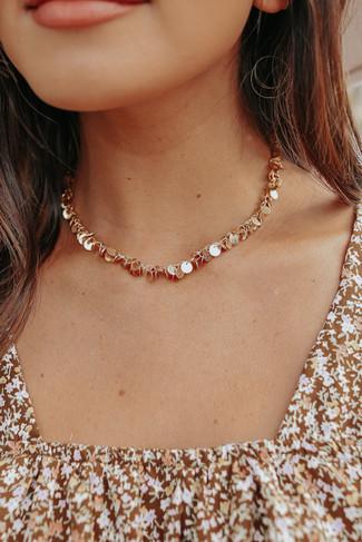 Got Money Too Gold Choker Necklace