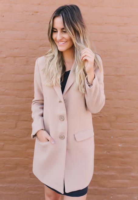 BB Dakota Whiskey Business Camel Coat