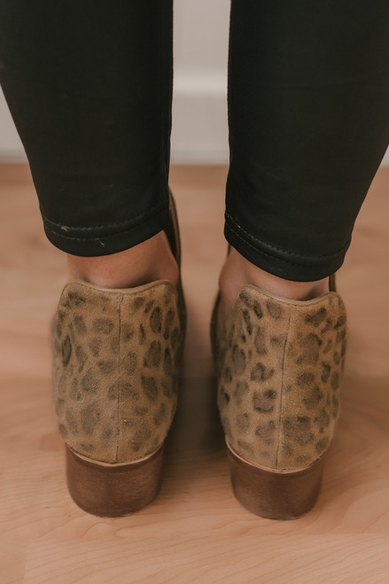 Coconuts by Matisse: Becca Leopard Booties - Brown Multi