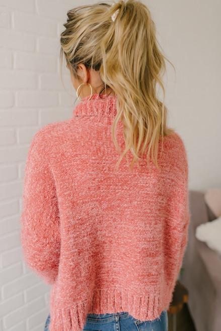 Jack by BB Dakota Eyelash Kisses Sweater - Blush Pink