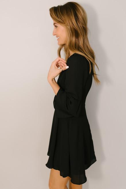 BB Dakota Always Classy Dress - Black - FINAL SALE
