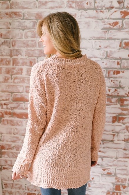 Northern Skies Wubby Pullover - Blush - FINAL SALE