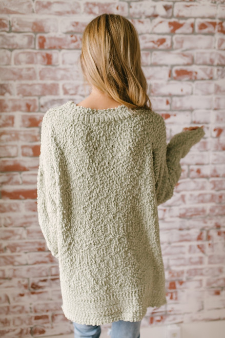 Northern Skies Wubby Pullover - Lime  - FINAL SALE