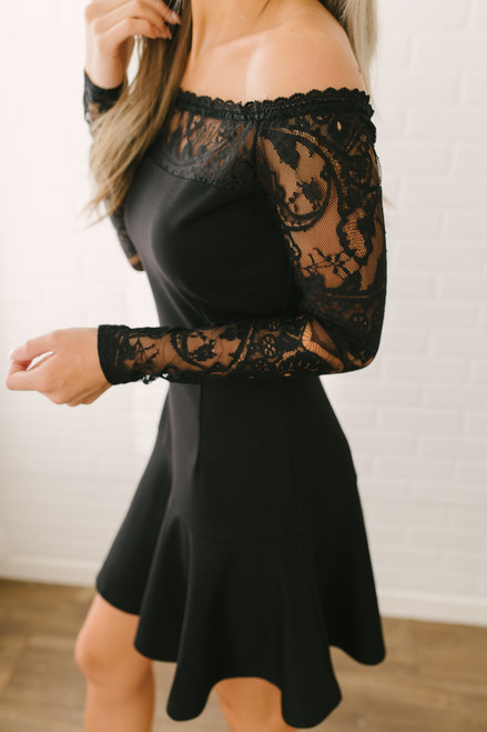 BB Dakota Lacey Days Dress - Black - FINAL SALE