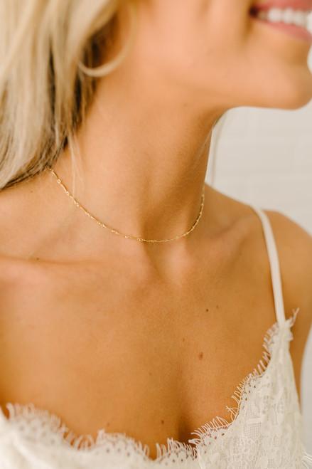 The Katie Choker - Gold