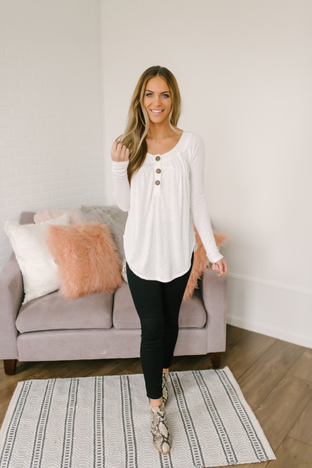 Free People Must Have Henley - Ivory
