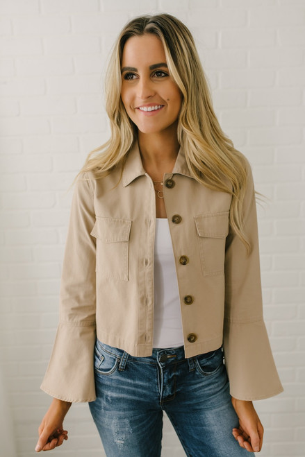 Jack by BB Dakota Army of Me Jacket - Sienna - FINAL SALE