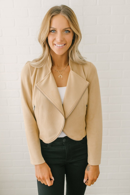 Jack by BB Dakota Dive Bomb Jacket - Sienna - FINAL SALE