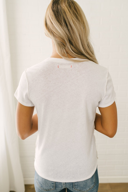 Free People Fruit Medley Tee - White
