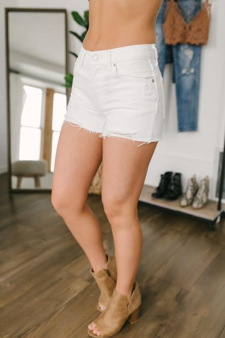 Free People Sofia Shorts - White