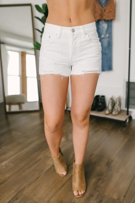 Free People Sofia Shorts - White - FINAL SALE